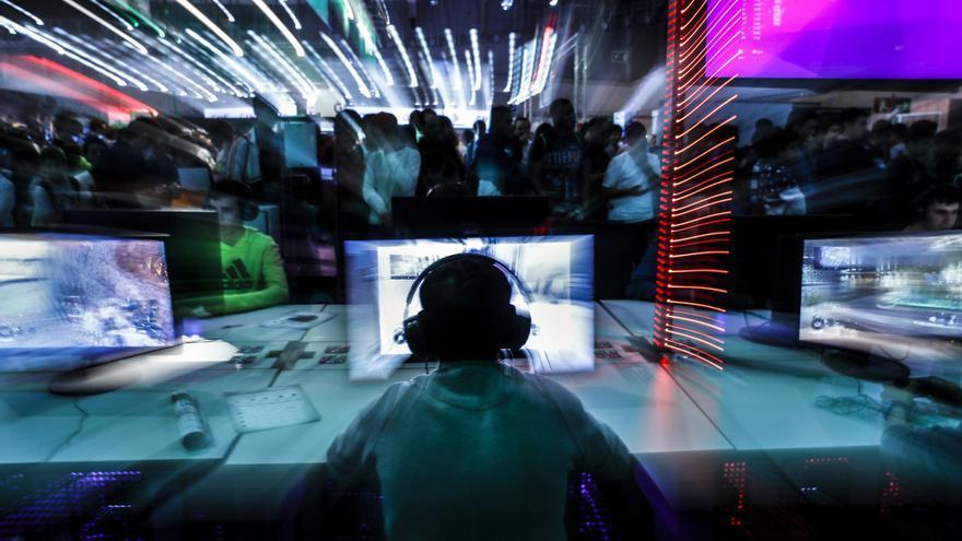 Vista de la edición de Madrid Gaming Experience celebrada en 2016.