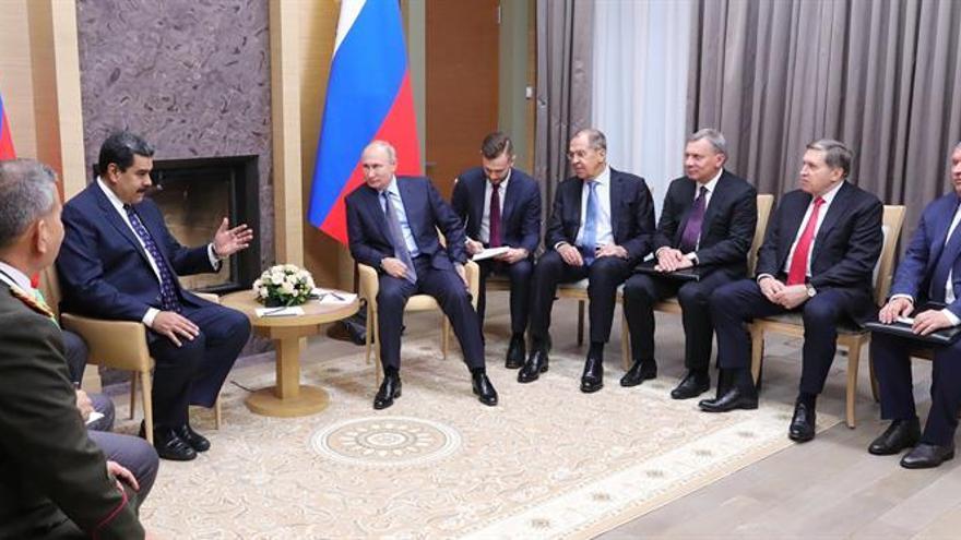 El Kremlin asegura que Rusia seguirá apoyando a Venezuela