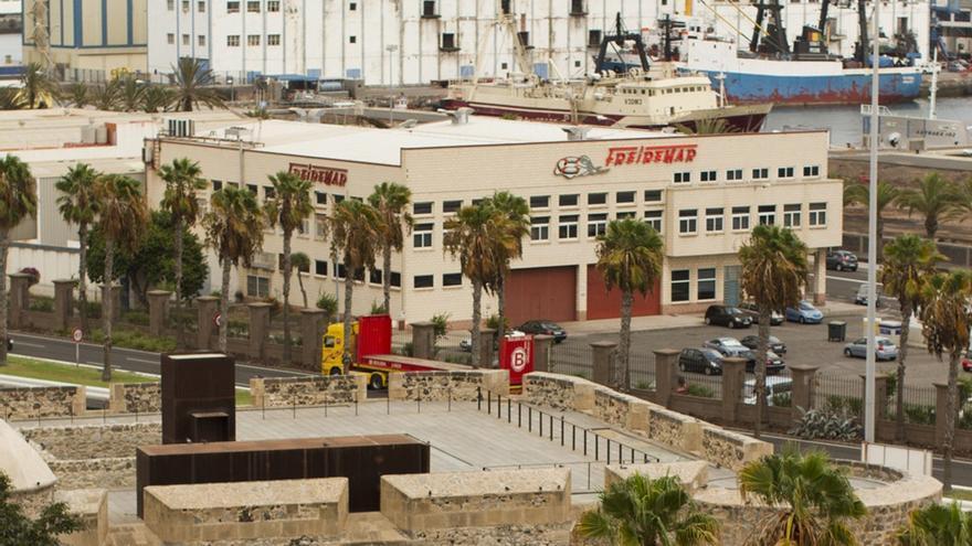 Central de Freiremar en Las Palmas de Gran Canaria