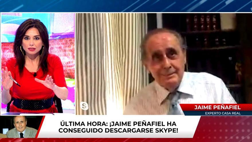 Jaime Peñafiel en 'Todo es mentira'