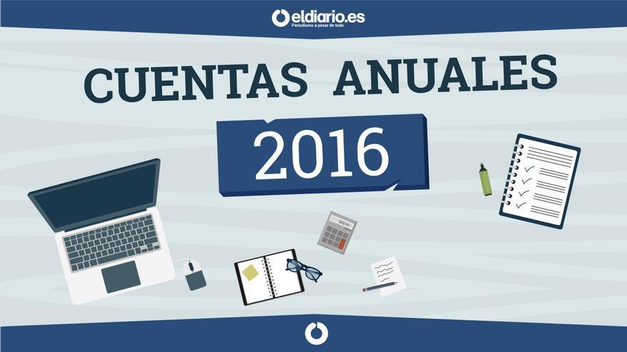Cuentas anuales 2016 de eldiario.es