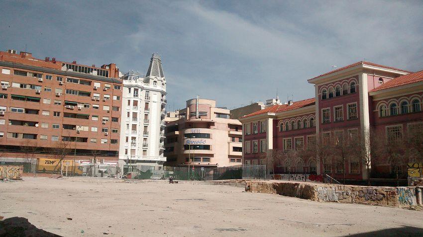 Solar de los futuros Jardines del Arquitecto Ribera | Foto: Somos Malasaña