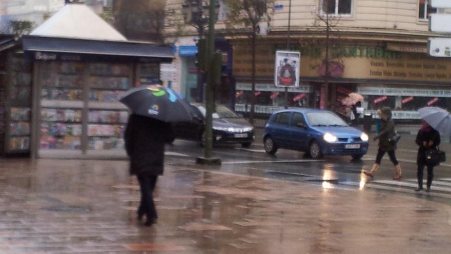 Santander, tercera localidad de España donde más ha llovido