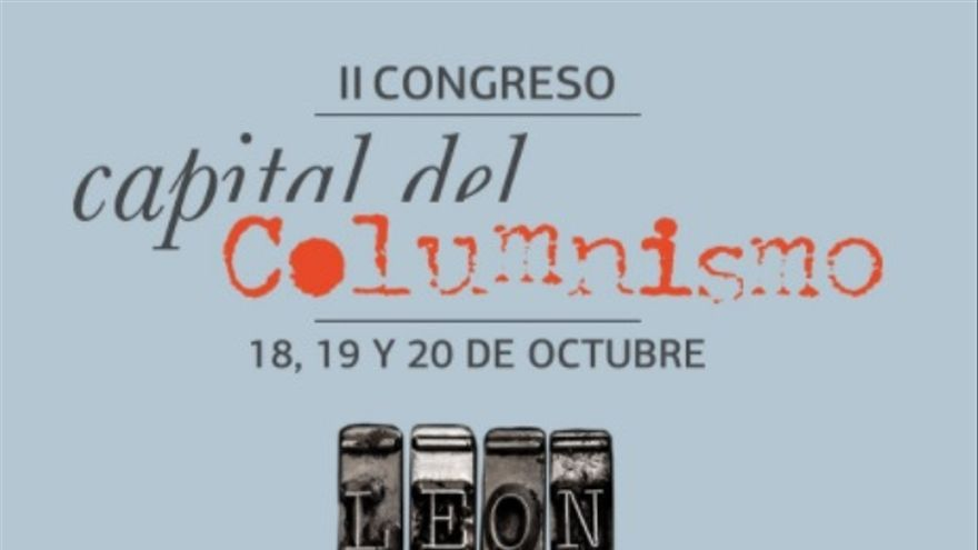 Cartel del II Congreso Capital del Columnismo.