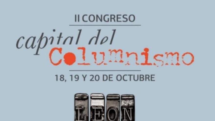 Cartel del II Congreso Capital del Columnismo.