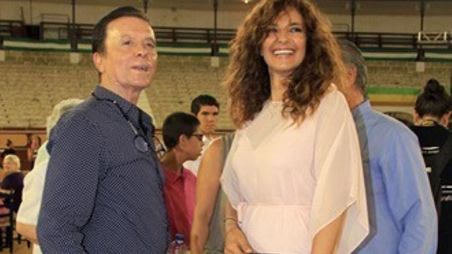 Mariló y María Casado, juntas en un desfile benéfico de Ortega Cano