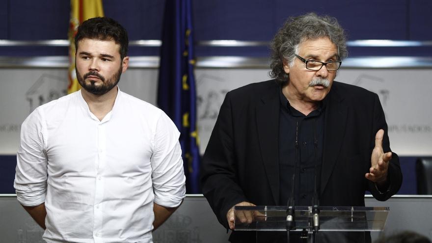 """ERC deja en el aire el apoyo a Domènech para el Congreso y cree que  habrá que elegir """"entre Guatemala y Guatepeor"""""""