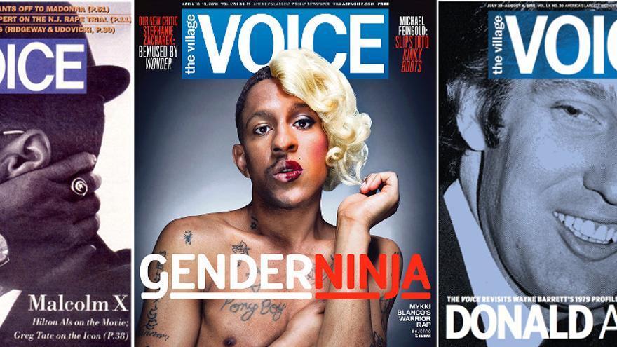 The Village Voice: portadas