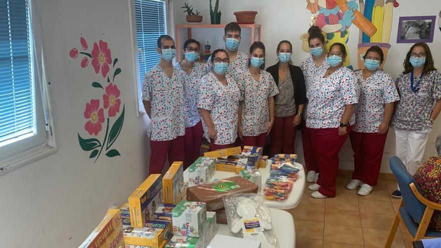 El alumnado del PFAE Villa de Mazo cede material para la estimulación cognitiva y psicomotriz de los pacientes del Hospital de Dolores