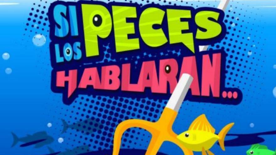 Cartel de 'Si los peces hablaran...'