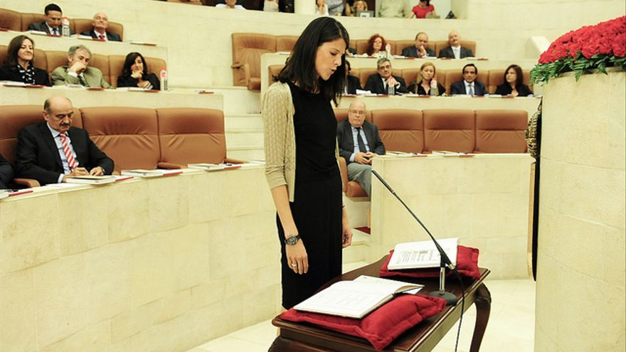Ruth Beitia es diputada regional desde 2011. | PP