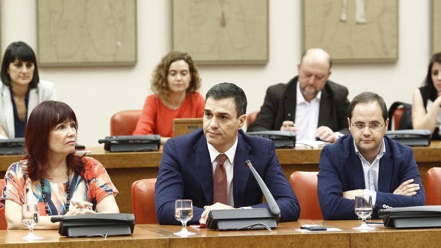 Pedro Sánchez confirma que el PSOE presentará candidatura para presidir el Congreso de los Diputados
