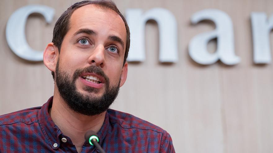 Miguel Montero, consejero de Podemos en el Cabildo de Gran Canaria