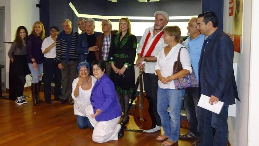 Participantes el Primer Congreso Internacional de Escritores.