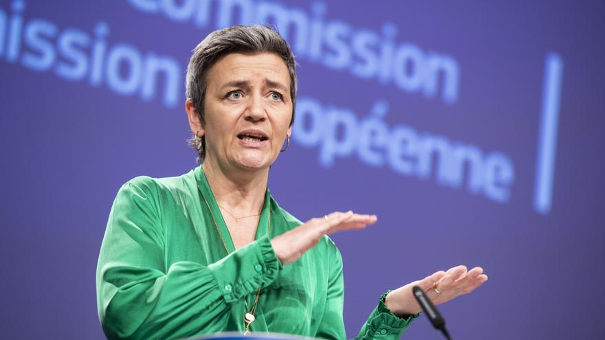 Margrethe Vestager, vicepresidenta de la Comisión Europea responsable de Competencia