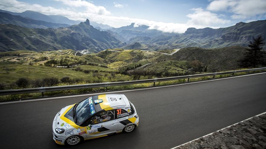 Imagen del Rally Islas Canarias.