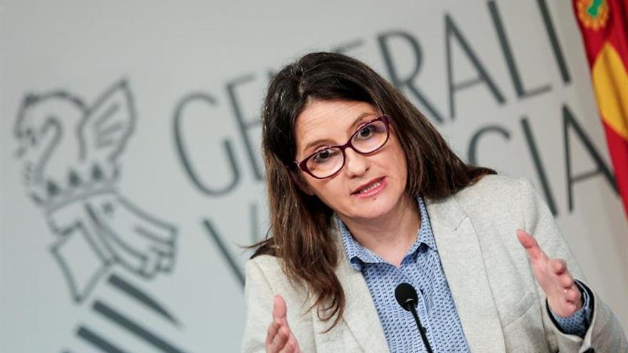 """Oltra intenta en Bruselas mejorar la """"maltrecha"""" imagen de Valencia en la UE"""