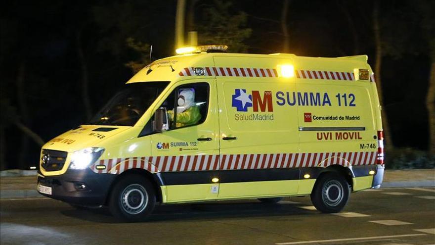 Auxiliar de enfermería contagiada de ébola ya ha ingresado en el Carlos III