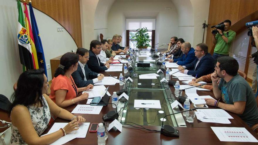 Reunión del Consejo de Capitalidad de Mérida
