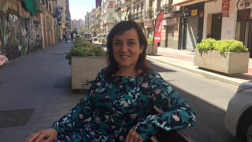 La concejala de Igualdad de València, Isabel Lozano