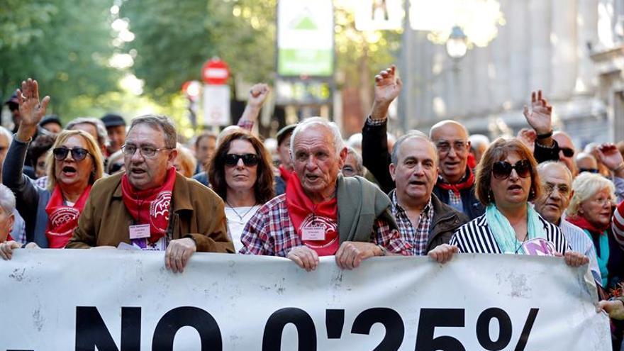 PP, PSOE, Podemos y Cs prometen mantener el poder adquisitivo a pensionistas