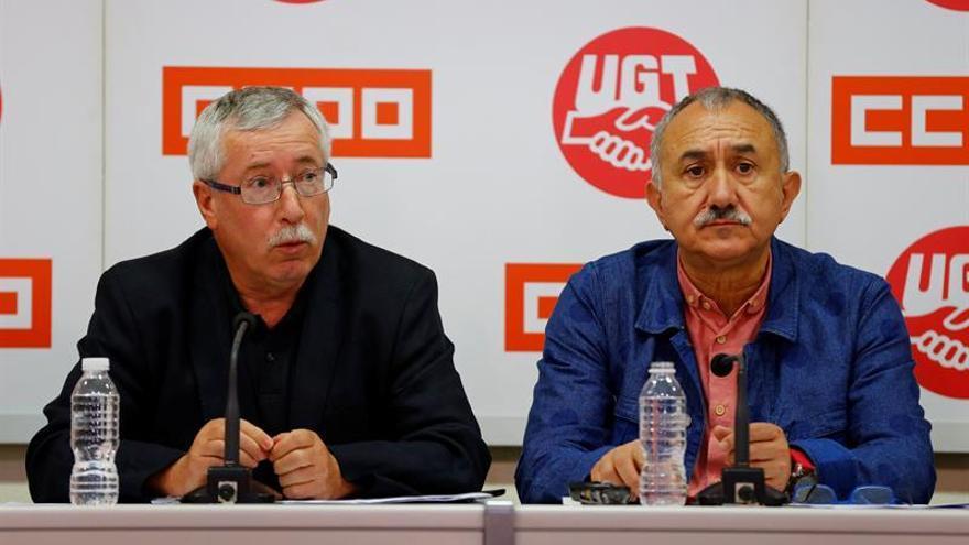 CCOO y UGT recurren la convocatoria para formación de trabajadores de 2016