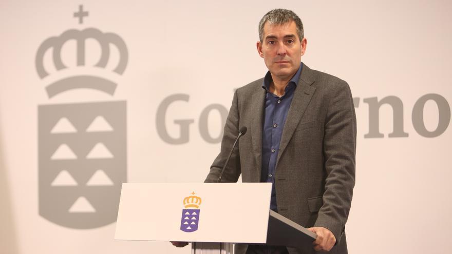 El presidente del Gobierno de Canarias, Fernando Clavijo (ALEJANDRO RAMOS)