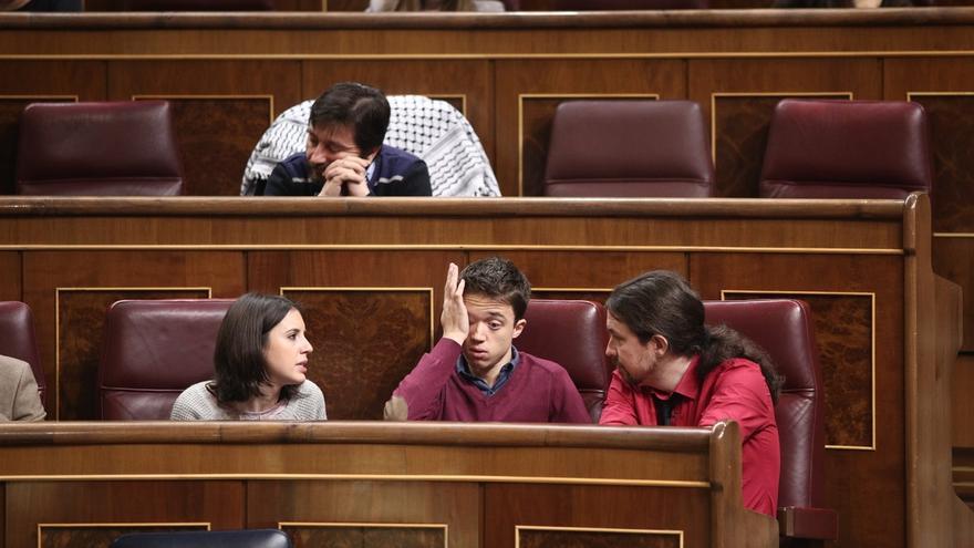 Unidos Podemos no reserva ninguna pregunta a Errejón en el próximo Pleno del Congreso, pero sí a Irene Montero