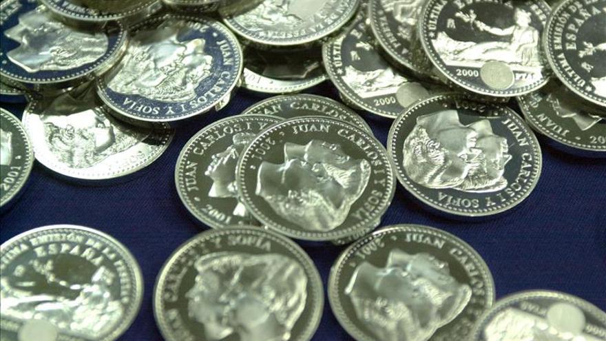 Los españoles aún conservan 1.662,3 millones de euros en pesetas sin canjear