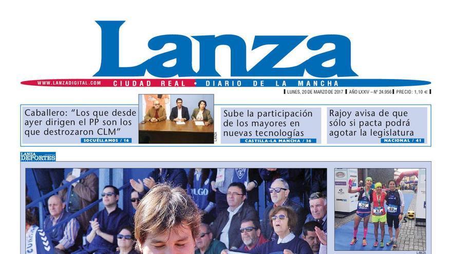 edición en papel de lanza, periódico de ciudad real