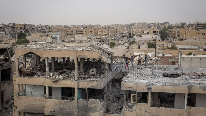 Destrucción general de Raqqa © Amnesty International