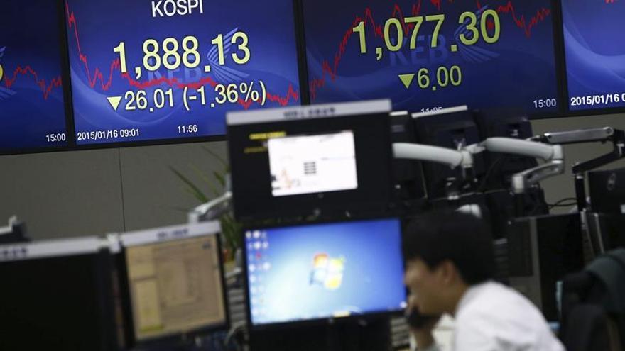Seúl abre con una subida del 0,16 por ciento hasta los 2.385,90 puntos