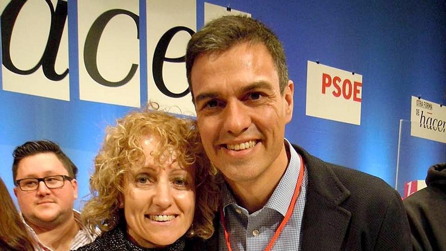 """La líder del PSOE en Cantabria dice que su relación con Pedro Sánchez sí es """"permanente y constante"""""""