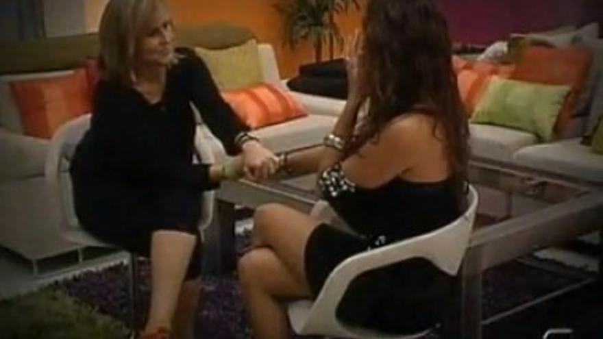 Mercedes Milá ya entró a la casa de 'GH11' para entrevistar a Indhira