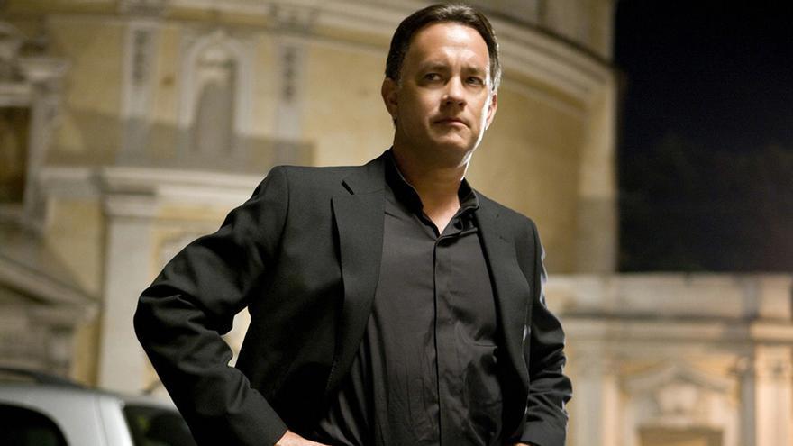 """Tom Hanks en """"Ángeles y demonios"""""""