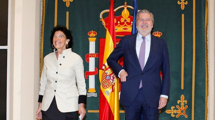 Isabel Celaá recoge la cartera de Educación del ex ministro Íñigo Méndez de Vigo.