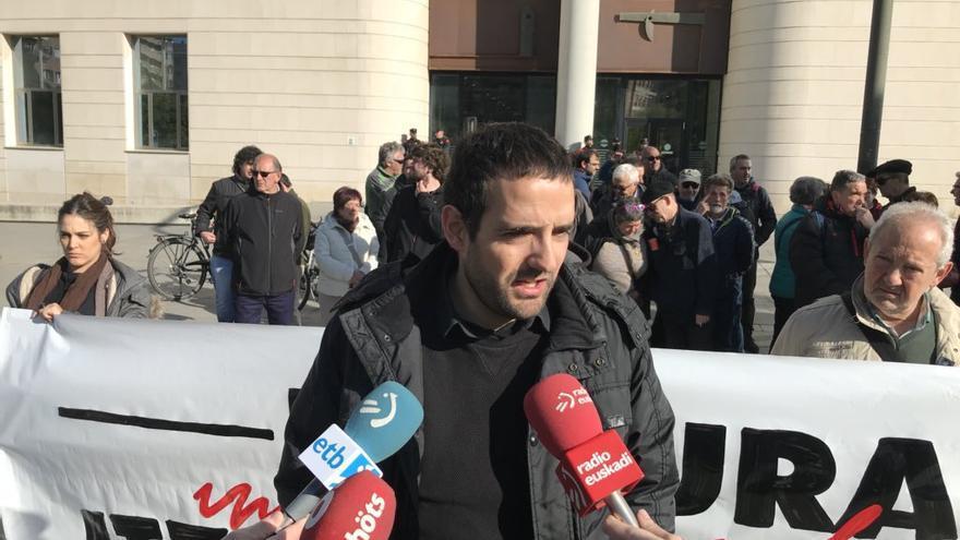 Eneko Compains, miembro de Sortu presuntamente torturado por la Guardia Civil.