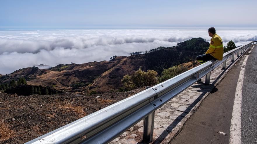 Los helicópteros contra incendios forestales han apagado 18 conatos en Gran Canaria durante este año