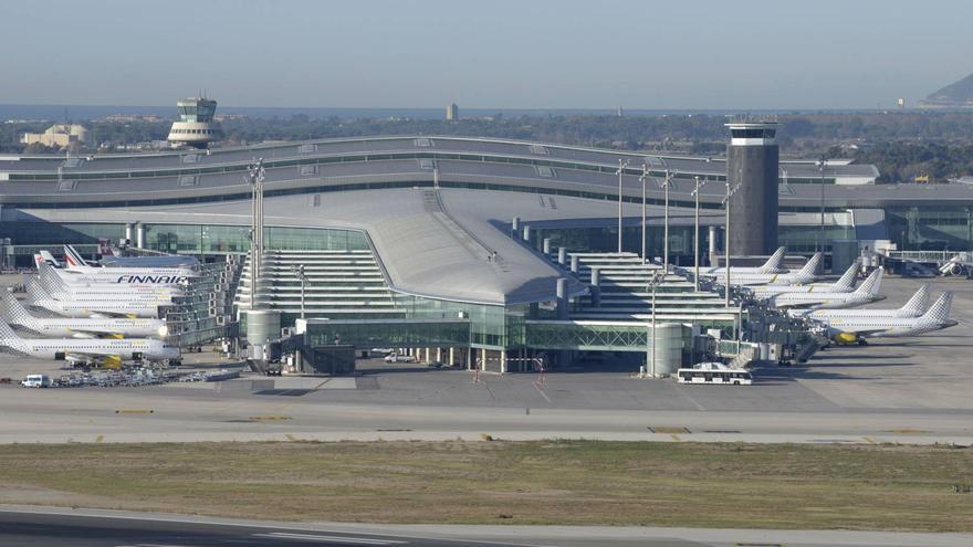 Terminal 1 del aeropuerto de Barcelona.