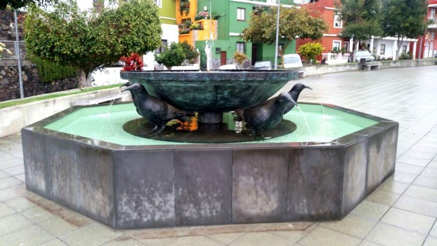 La Fuente de La Graja en el barrio de Argual.