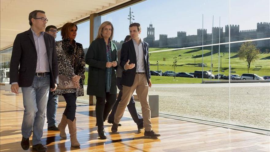 """Pablo Casado lanza un mensaje de """"tranquilidad"""" y destaca la labor de los cuerpos de seguridad"""