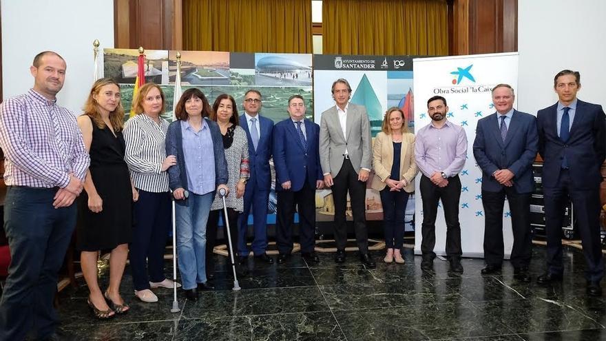 Obra Social 'la Caixa' destina 80.000 euros a cuatro proyectos cántabros de mejora de calidad de vida