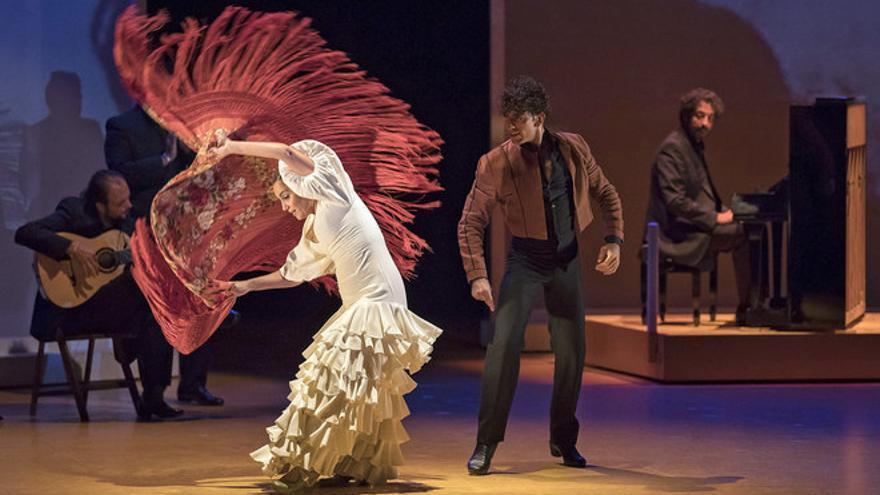 Actuación del Ballet Flamenco de Andalucía, con Rafaela Carrasco. EFE