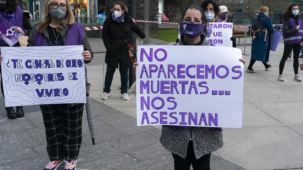 Protesta contra la violencia de género