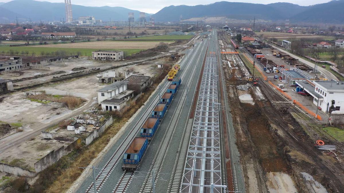 Corredor Ferroviario en Rumania.