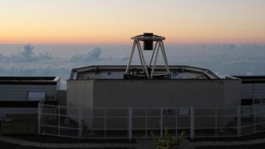 Telescopio Liverpool, en el Observatorio del Roque de Los Muachachos (Garafía)