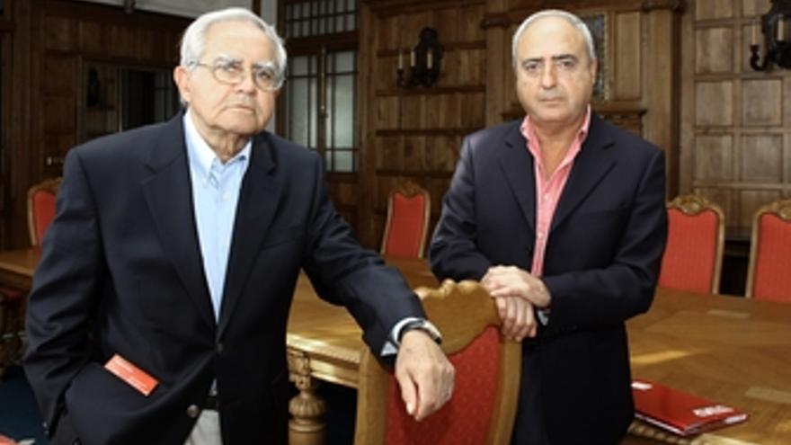 Salvador García y Enrique Rubio