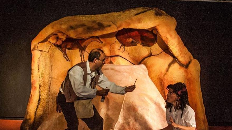 La obra de teatro 'Altamira, la aventura de María Justina' se representara en el museo de esta cueva en Santillana del Mar.