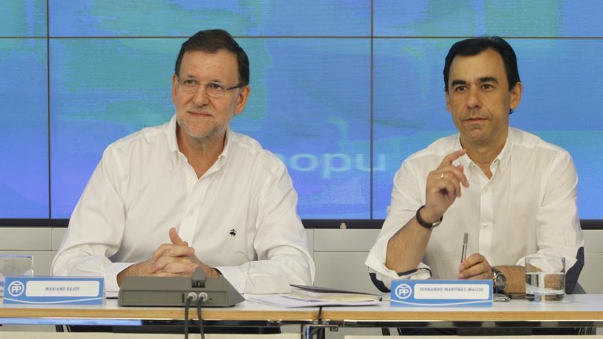 El PP justifica la presencia de Cospedal en la reunión de Rajoy con CC en que ha sido un encuentro entre partidos