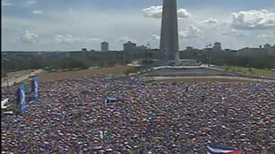 Más de medio millón de personas acuden a la llamada de Juanes